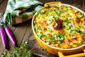 20506880 - casserole of fresh vegetable marrows